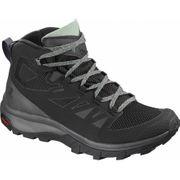 Salomon - Outline Mid GoreTex Femmes chaussures de randonnée (noir/gris)