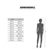 Bâtons de ski Komperdell Rebelution Carbon argent (paire)