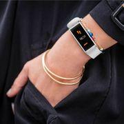 MyKronoz Zefit 4 Tracker d'activité Montre Bracelet Connecté Bluetooth Blanc