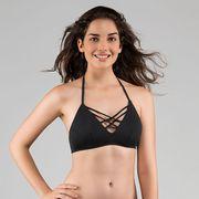 Haut de maillot de bain Triangle Dorina Bora Bora Noir