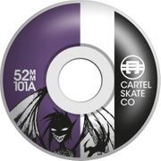 SKATE COMPLET ENFANT CARTEL 7.5 DEMON PURPLE