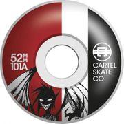 SKATE COMPLET ENFANT CARTEL 7.5 DEMON RED