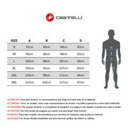 Short cycliste Castelli Endurance 2 Short sans bretelles noir
