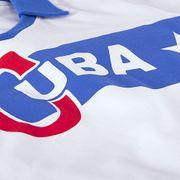 Cuba 1962 Castro Short Sleeve Retro Maillot 100% cotton