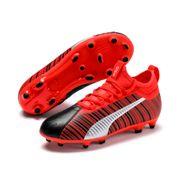 Pack chaussons de football pour enfants - Chaussons de football junior avec fond ferme Puma One 5.3 FG / AG