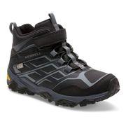 Chaussures de marche Merrell Moab FST MID A/C noir enfant
