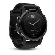 Garmin - f�nix 5S Saphire montre outdoor unisex (noir)