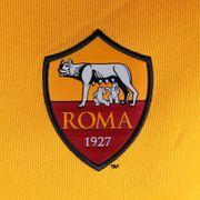 2014-2015 AS Roma Nike Knit Tracksuit (Orange)