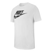 T-shirt Nike Sportswear Camo 1 manche courte blanc noir gris