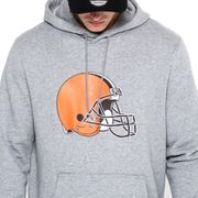 Sweat à capuche New Era avec logo de l'équipe Cleveland Browns