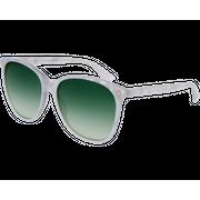 Gucci 0024/S Blanc Vert Dégradé