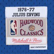 Maillot NBA swingman Julius Erving Philadelphia 76ers 1976-77 Hardwood Classics Mitchell & ness Bleu taille - L
