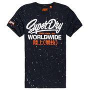 SUPERDRY Urban Camo Long Line T-Shirt Mc Homme