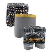 No Publik - Lot De 3 Boxers Microfibre Homme Taxi Driver