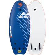 Waimea Planche de surf EPS 114 cm Lisse Bleu 52WZ-BLO-Un