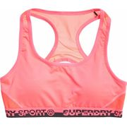 Superdry - Core Layer Femmes Trainingsbra (rose)
