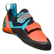 Chaussons d'escalade La Sportiva Katana orange bleu