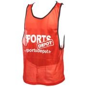 Sportdepot rouge chasuble