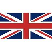 Drapeau imprimé du Royaume Uni Union Jack