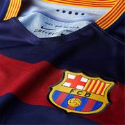 2015-2016 Barcelona Authentic Home Nike Shirt