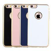 Housse coque de protection -Pour l'iPhone 6 et 6s  Mou de TPU housse de Protection Case (Bleu Foncé)