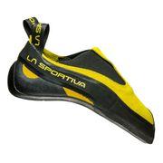 Chaussons d'escalade La Sportiva Cobra jaune noir