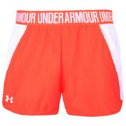 Short Under Armour play up 2.0 Corail pour femme taille - XS