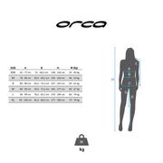 Combinaison néoprène Orca Core Swimrun Core manche longue noir vert femme