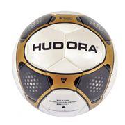 Hudora League footbal - Ballon foot ligue taille 5 - noire/or