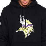 Sweat à capuche New Era avec logo de l'équipe Minnesota Vikings