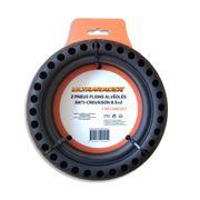 Ultraracer - Lot de 2 pneus pleins Alvéolés compatibles M365