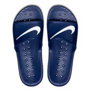 Claquettes Nike Kawa Shower bleu blanc