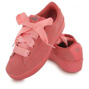Puma Vikky Platform Ribbon rose, baskets mode femme
