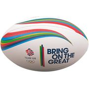 Ballon de beach rugby Gilbert Team GB (taille 5)