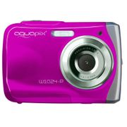 Appareil photo �tanche Aquapix Rose Splash ��tanche 3m W1024_PINK