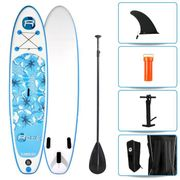 STAND UP PADDLE - SUP  Pack Paddle Gonflable Flower - 320x76x15cm - Avec accessoires
