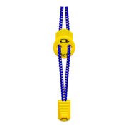 Lacets Aquaman Élastiques A-Lace bleu jaune
