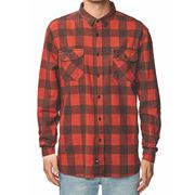 Globe Dion Agius Tempo Ls Shirt Red S