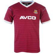 West Ham United FC officiel - T-shirt thème football - homme - style rétro/années 1983/1986 - couleurs domicile