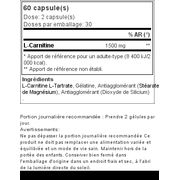 L-Carnitine Professional 60 gélules - naturel