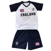 Ensemble short et maillot de foot Angleterre enfant  Taille de 2 é 14 ans - 4 ans blanc
