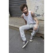 Pantalon jogging homme urban - 5406 - gris chiné