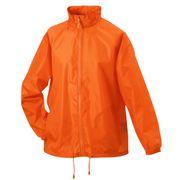 Veste coupe-vent imperméable HOMME FEMME JN195 - orange