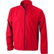 Veste softshell coupe-vent imperméable homme JN1020 - rouge