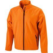 Veste softshell coupe-vent imperméable homme JN1020 - orange