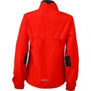 veste légère running jogging JN475 - rouge tomate - femme - course à pied