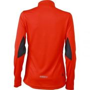 t-shirt respirant manches longues running JN473 - rouge grenadine - FEMME - jogging - course à pied