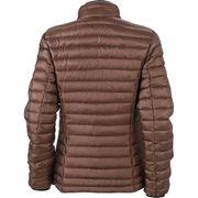 Veste matelassée duvet - doudoune anorak FEMME - JN1081 - marron