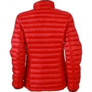 Veste matelassée duvet - doudoune anorak FEMME - JN1081 - rouge