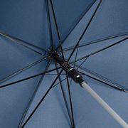 Parapluie standard automatique canne aluminium - 7850 - bleu marine